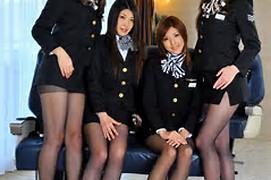 Hot Flight Attendant Japanese