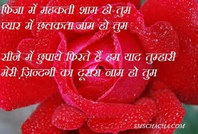 Romantic Love Shayari Hindi