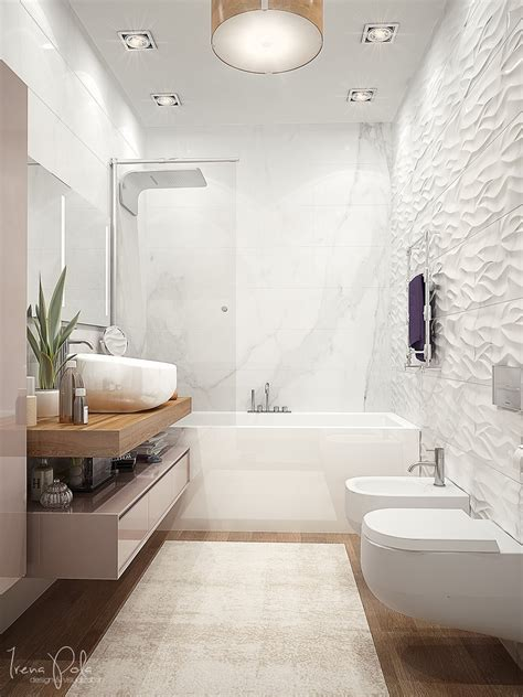 textured walls in bathroom super luxurious apartment in kiev ukraine