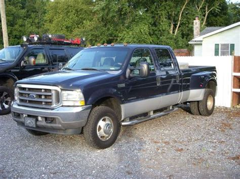 car owners manuals for sale 2002 ford f350 transmission control sell used 2002 ford f350 crewcab dually diesel in elkton maryland united states for us 11 000 00
