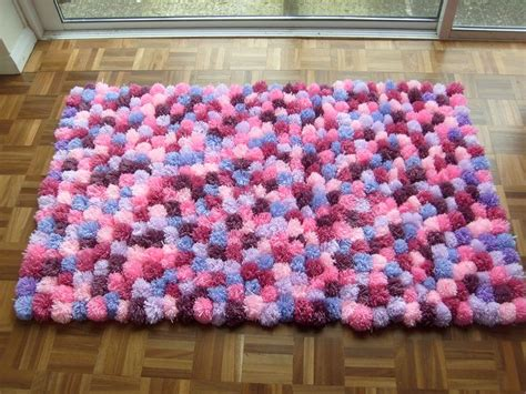 Pom Pom Mats by 93 Best Images About Diy Rag Rugs And Pompom Rugs On