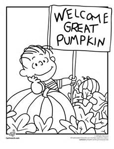 Great pumpkin charlie brown coloring pages az coloring pages