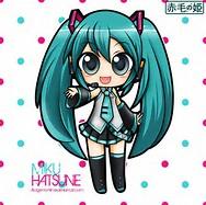Chibi Hatsune Miku Anime
