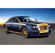 Mansory Has Just Unveiled The Rolls Royce Ghost Program That