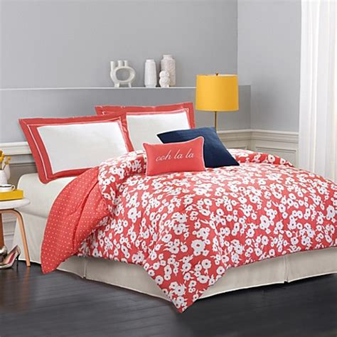 kate spade bed bath and beyond kate spade new york mixed petal comforter set bed bath