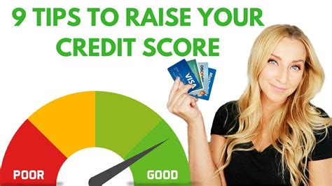 9 Tips On Raising by How To Raise Your Credit Score 9 Easy Tips