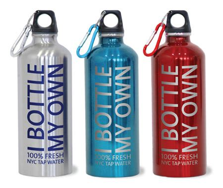My Bottle Eco Friendly Water stainless steel water bottle riverkeeper s quot i bottle my own quot epromos promotional