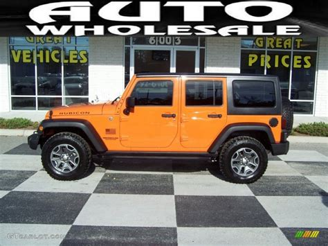 jeep rubicon orange orange jeep wrangler rubicon imgkid com the image
