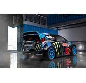 Ford Fiesta ST RallyCross Car Ken Block Modified Focus TrackSTer