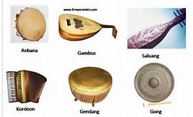 ALAT MUSIK TRADISIONAL: Alat-alat musik Indonesia
