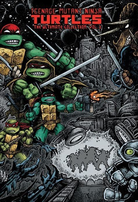 mutant turtles the idw collection volume 2 mutant turtles the ultimate collection vol