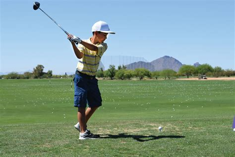 golf swing for kids the first tee of phoenix celebrates opening of first