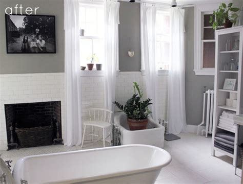 green and gray bathroom before after gray green bathroom redo design sponge