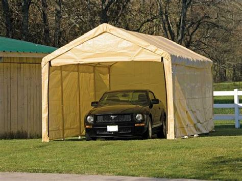 Portable Car Garage Some Portable Garage Features You Should Consider Give