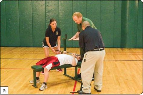 bench press fitness test brockport physical fitness test manual second edition