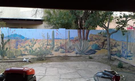 outdoor murals for walls 1000 ideas about cinder block walls on block wall basements and cinder blocks