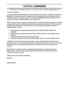 Financial Accounting Manager Cover Letter by Best Branch Manager Cover Letter Exles Livecareer