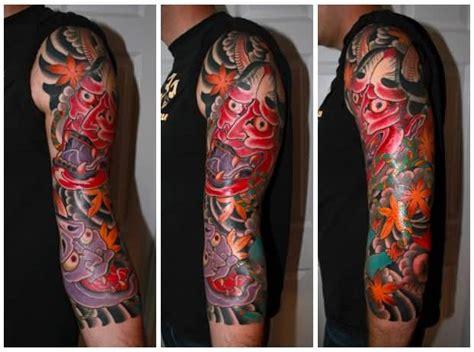 hannya mask tattoo forearm 47 fantastic hannya sleeve tattoos