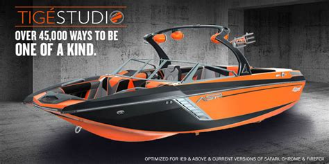 the tige studio paints the future of custom boat building - Tige Boat Values