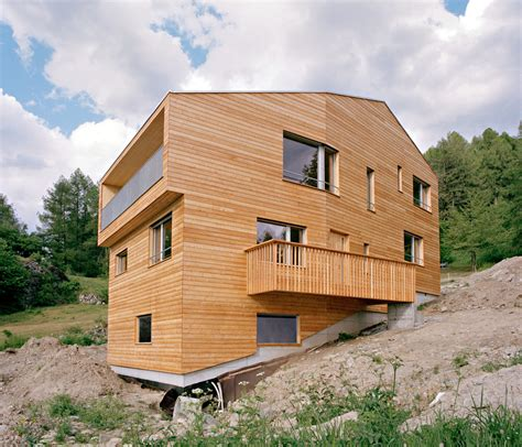 house on slope wooden house on the slope by lx1 architects