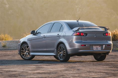 turbo for mitsubishi lancer 2016 mitsubishi lancer gets new look drops ralliart turbo
