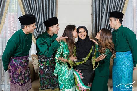 hari raya   naza family wedding portrait photography cinematic films storiesmy