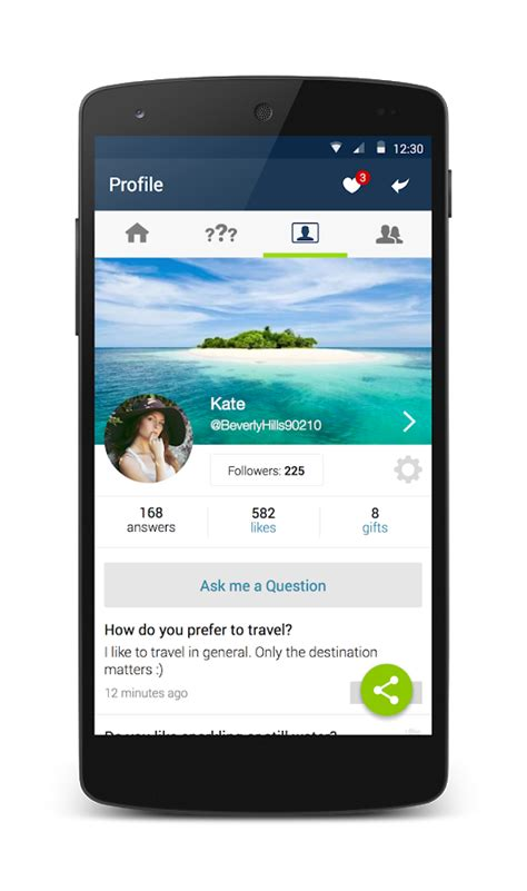 ask fm question of the day ask fm social q a network android apps on google play