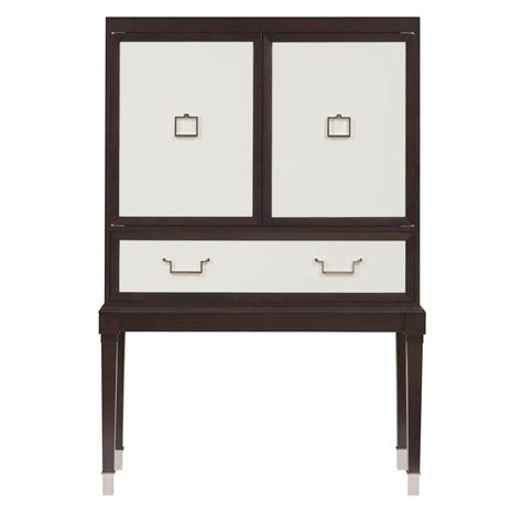 White Bar Cabinet Regency Espresso White Bar Cabinet Kathy Kuo Home