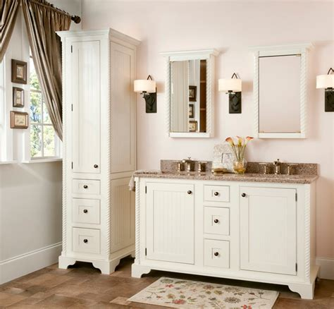 traditional bathroom vanities and cabinets ascott furniture suite from the bath collection