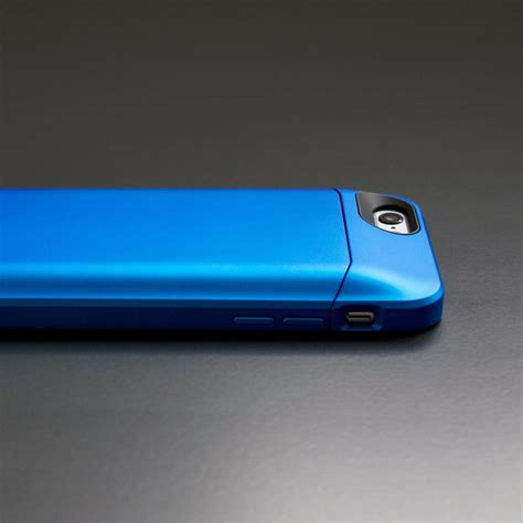 elite battery case blue iphone  phonesuit
