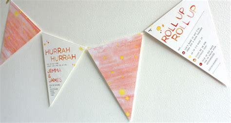 bunting wedding invitations unique watercolor bunting wedding invitations invitation