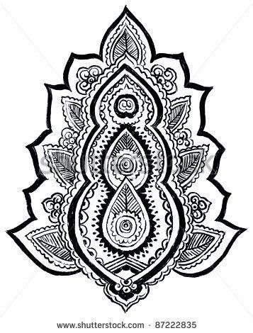 printable henna tattoo stencils henna templates printable henna paisley designs henna