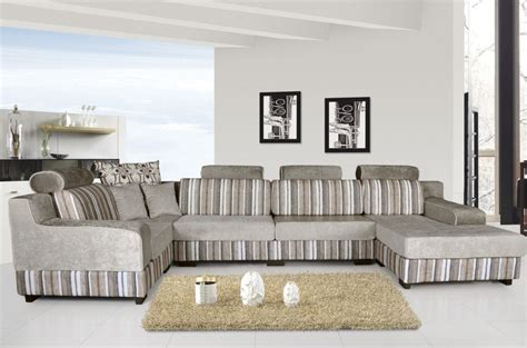 Modern Living Room Sofa Sets | modern sofas and retro sofa in living room 3d house