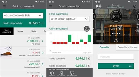 banco popolare banking bpm mobile banking app now available for windows mobile