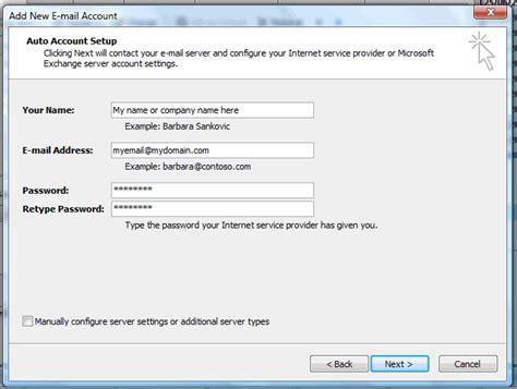 Web Developer Outlook by Adding An Email On Outlook Flo Web Design Ltd