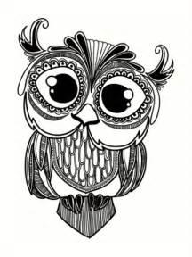 coloriage mandala hibou tattoos pinterest tattoo