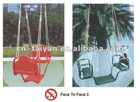 face to face glider swing face to face glider two swing seat for kids view two seat