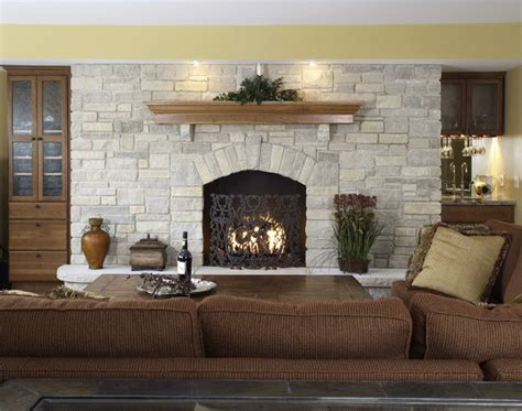 Basement Family Room Fireplace Amp Built Ins Traditional