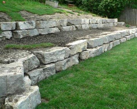 25 best ideas about stone retaining wall on pinterest