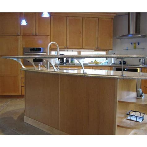 Unfinished Furniture Kitchen Island Easily Create A Floating Countertop With Federal Brace S