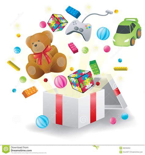 imagenes de juguetes inteligentes los juguetes estallaron de la actual caja en el fondo