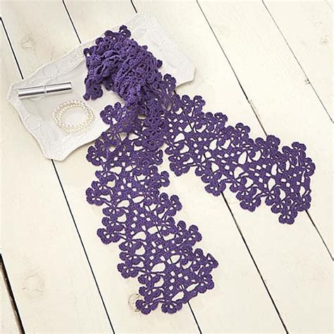 crochet pattern galore crochet patterns galore bryanna scarf