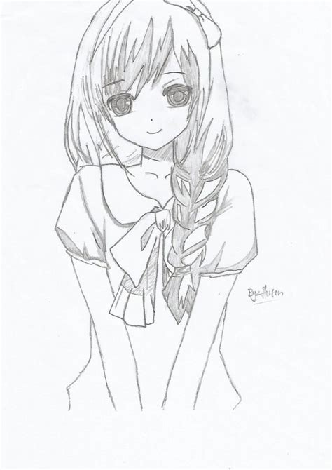 Anime Sketches by Anime Drawing Anime Husenrqn On