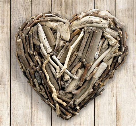 driftwood ls for sale hanging driftwood heart for sale cottage bungalow