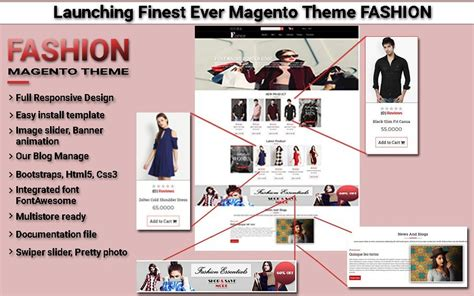 best magento templates top magento fashion theme archives weblizarblog