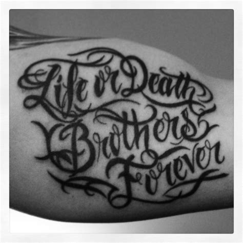 design for life tattoo brothers for designs www pixshark