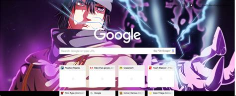theme google chrome sasuke sasuke the last chidori chrome theme themebeta