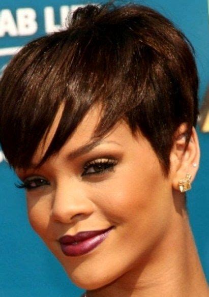 heavy bang pixie hairstyle pixie cuts heavy bangs 18 short hairstyles for thick