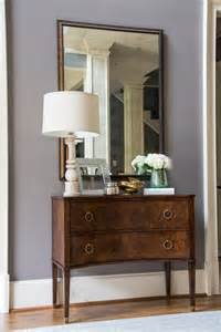 Entry Console With Drawers Furniture Black Wooden Foyer Console Table With Brown Top