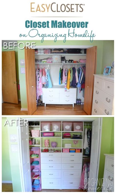 How To Organize A Shared Closet by Organized Closet Reveal For A Shared Room Top
